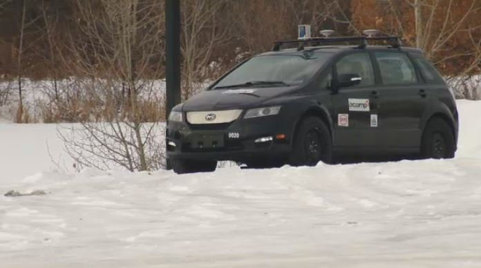 Self-Driving Car Edmonton